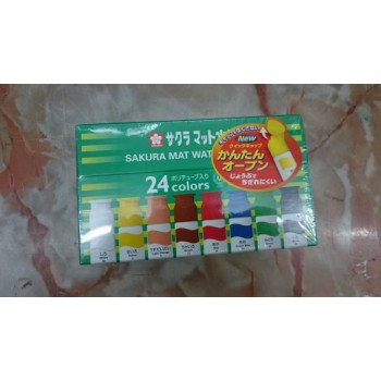 Sakura Mat Watercolors – 24 colors